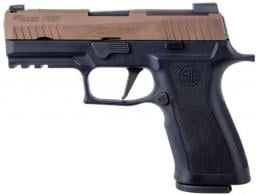 Sig Sauer P320 X-Carry 9MM 3.9in 2-Tone Coyote X-Ray 3 17RD - 320XCA9TXR3COY