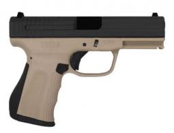 FMK Recon 9mm 14+1 4 Desert Tan Frame Black Slide - FMKG9C1G2RUB