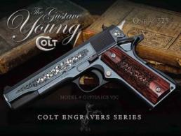 Colt Gustave Young Engraved .45 ACP 5in. 7+1 - O1970A1CSVJC