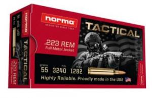 500 Rounds Norma 223 55gr FMJ FREE SHIPPING! - 295040020CASE
