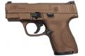 Smith & Wesson M&P 9 Shield 9mm Burnt Bronze - 13289