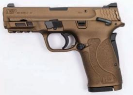 Smith & Wesson M&P 380 Shield EZ Burnt Bronze Thumb Safety - 13290