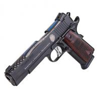 Sig NLEOMF Commemorative 1911 .45 ACP Rosewood Grips - L191145BSSNLEOMFLE