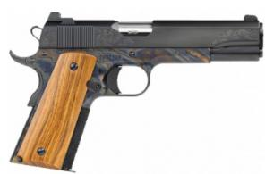 Dan Wesson Heirloom 2020 .45 ACP 5 8+1 Case Colored Black Stainless Steel French Walnut Grip - 01822