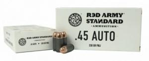 Century Red Army .45 ACP 230gr FMJ 50rd Steel case - AM3262
