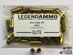 Legend Elite 9mm 147gr JHP