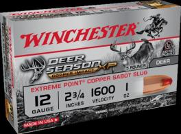 "Winchester Deer Season XP 12 GA Slug 2-3/4"" Copper 1oz"