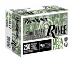 Remington Range 9mm 115gr FMJ 250ct - T9MM3A