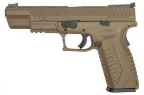 Springfield XDM 10mm Flat Dark Earth 5.25 15+1 - XDM952510FHCE