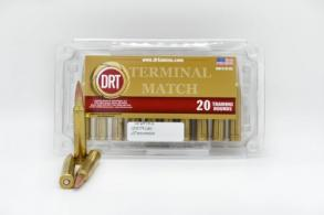DRT 300 Win Mag 175gr Terminal Match Ammunition, 20 Rounds - 5300WM17520
