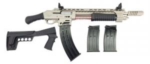 "Emperor Arms King 12 Pump Action Firearm 18.5"" BRL Spring-Assisted Marine - KNG12MAR"
