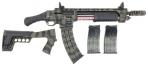 "Emperor Arms King 12 Pump Action Firearm 18.5"" BRL Spring-Assisted Camo Khaki - KNG12HAKI"