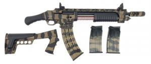 "Emperor Arms King 12 Pump Action Firearm 18.5"" BRL Spring-Assisted Camo Bronze - KNG12BRZ"