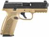 FNH FN509 9MM 4 NMS FDE 10 - 66-100358