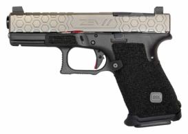 ZEV G19 G3 HEX 9MM 4 GRY 15 - 3G19HEXRMRCWABS