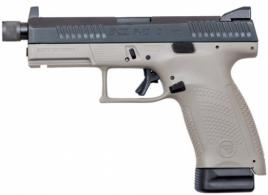CZ-USA P-10 Compact 9MM Black/Grey 17+1 Threaded Barrel - 91519