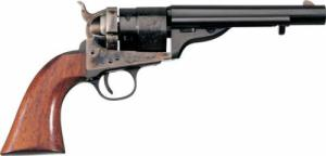 "Uberti 1860 Army Model Revolver, .38 Special, 4.75"", Walnut  - 341361"