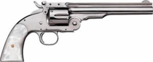 "Uberti 1875 No. 3 2nd Model Top Break, .38 Special, 5"", Nick - 348574"