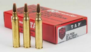 Hornady .223 Remington  53gr GMX TAP