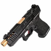 ZEV Z19 SPARTAN 4TH GEN THREADED RMR - 4G19SPARTRMRCWABSTH