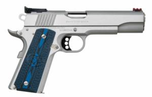 "Colt Gold Cup Lite .45 ACP 5"" Stainless Adjustable Sights G10 Grips - O5070GCL"