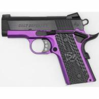 COLT DEFENDER .45 ACP 3 BLUED PURPLE FRAME 1/200 - O7800XEAP