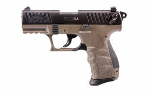 Walther Arms P22 .22 LR  3.4 Flat Dark Earth 1-10RD CA - 5120363