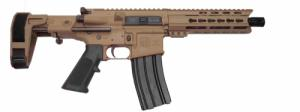 "Diamondback - DB15 Pistol 300BlackOut 8.50"" FDE W/Maxim CQB  - DB15PC300FDE8M"