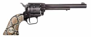 "Heritage - Rough Rider, 22LR, 6.5"", Fixed Sights, Blue, Ratt - RR22B6SNK"