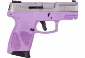 Taurus G2C 9MM 12-Shot 3-Dot Light Purple - 1G2C93912LP