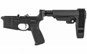 BCM Pistol LOWER GROUP W/SBA3 Black - LRGSBA3BLK