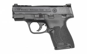 Smith & Wesson PC SHIELD 2.0 .40 S&W 7RD Night Sights Thumb Safety - 11870