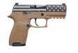 Sig Sauer P320 FLAG 9MM 15RD COYOTE - 320C9DVS18