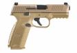 FN HERSTAL FN 509 9MM DA 10RD Flat Dark Earth FS - 66100490