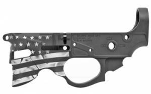 Sharps Bros GEN2 OVERTHROW BILLET LWR FLG - SBLR07-CB-FLAG