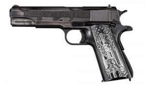Auto Ordnance - 1911 I Stand, 45 ACP, Freedom Is Not Free, All Gave Some, Some Gave All, Flag Grips, 7rd - 1911BKOC1