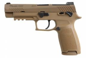 Sig Sauer LE P320-M17 9mm Manual Safety SigLites Coyote - 320F9M17MSLE