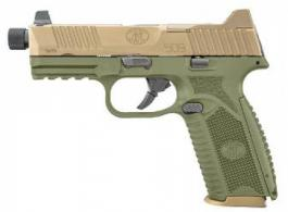 FN Herstal 509 TACTICAL 9MM OD Green/Flat Dark Earth Night Sights NMS 1 17RD 2 24RD - 66100598