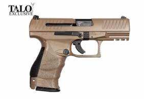 Walther Arms PPQ M2 9MM 4TAN 15RD Adjustable Sights TL - 2796066CT