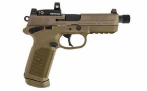 FN HERSTAL FNX-45 Tactical 45AP 10 Flat Dark Earth RD - 66100660