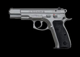 CZ 75B 9mm Matte Stainless 16rd - 91128LE