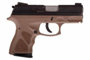 Taurus TH40 Compact .40 S&W BLK/BROWN 15+1 - 1TH40C031B