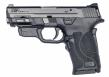 "Smith & Wesson - M&P Shield EZ, 9mm, 3.675"" Barrel, Adj Sights, Black,No Thumb safety, Crimson Trace laser, 8rd - 12439"