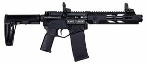 "Diamondback - DB15 Pistol,5.56 Diamond Series,7""BBL,9""M-Lok Rail,MOE Grip,Black,TailHook,MBUS Sights,30Rd - DB15PDS7B"