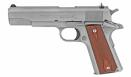 "Colt 1911 Classic Goverment, 38 Super, 5""Bbl. Stainless Steel Fixed Sights, Rosewood Grips 9+1RD - O1911C-SS38"