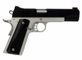 "Kimber Custom LW .45ACP, 5"", Two-Tone Pistol, White Dot Rear/Red Fiber Optic Sights, 8rd Magazine, Black Laminate Wood Grips - 3700611"
