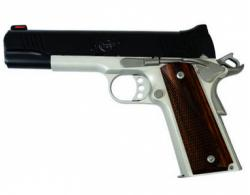 "Kimber Custom LW .45ACP, 5"", Two-Tone Pistol, White Dot Rear/Red Fiber Optic Sights, 8rd Magazine, Cocobolo Wood Grips  - 3700609"