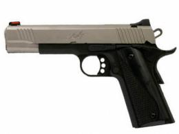 "Kimber Stainless LW 9mm, 5"", Two-Tone Pistol, White Dot Rear/Red Fiber Optic Sights, 9rd Magazine, Black Laminate Wood Grips - 3700608"