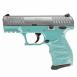 "Walther Arms CCP M2 .380 ACP Angel blue stainless 8Rd. CCP M2 .380 ACP 8Rd. 3.5"" barrel 2 Mags. - 5082512"