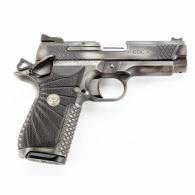 "Wilson EDC X9 Cmpt, Non-Lightrail, 9mm, Ambisafety Silver/Black Combat Tuff Coating, Double Stack 15rd Mag, 1.5"" Accuracy Guaran - EDCXCP9ASLVBLK"